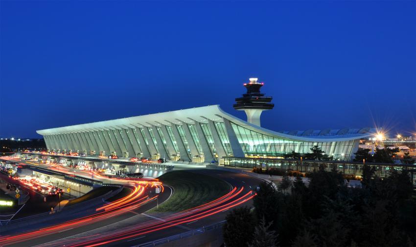 美国华盛顿杜勒斯机场