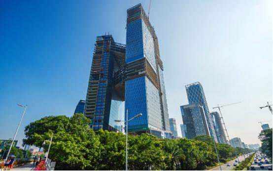 腾讯滨海大厦钢结构工