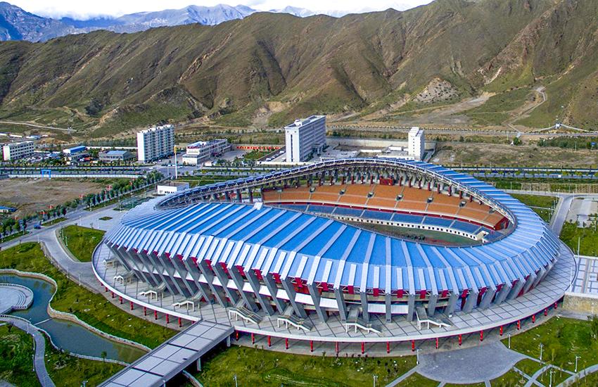 雪域高原方显卓然本色—记拉萨中心体育场铝镁锰屋面项目
